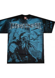 футболка megadeth full print