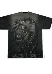футболка мертвец с косой