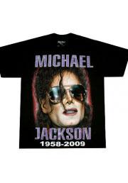 футболка michael jackson 1958-2009