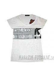 футболка michael jackson белая
