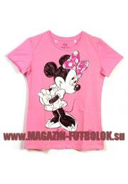 футболка mickey moscow rose
