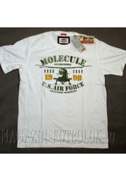 футболка molecule us air force (white)