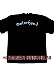 футболка motorhead kiss of the death