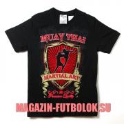 футболка muay thai с гербом
