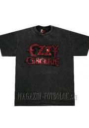футболка ozzy osbourne со стразами