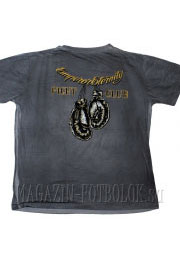 футболка с боксерской тематикой fight club