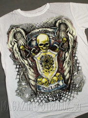 футболка с черепом don`t cry