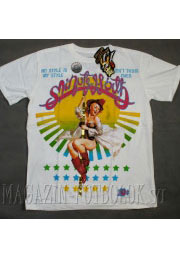 футболка с девушкой strip pinup girl
