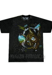 футболка с дьяволом