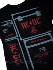футболка с надписью ac dc crew