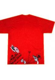 футболка скелет за решеткой