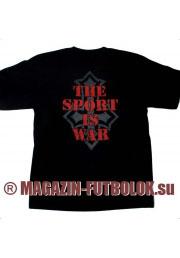 футболка slayer sport is war