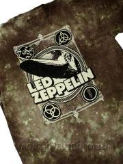 футболка zeppelin poster