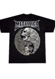 футболки металлика skull
