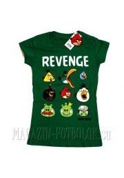 женская футболка angry birds girls revenge