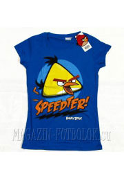 Женская футболка Angry Birds Girls Speedter