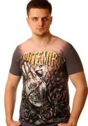 модная футболка с руками