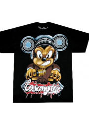 Хип Хоп футболка рэперская злой Микки
