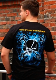 футболка iron maiden final frontier monster