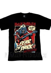 iron maiden футболка fear of dark