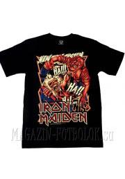 iron maiden футболка nts