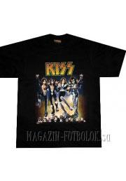 футболка с рок группой с фото kiss