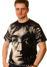 футболки  john lennon full print