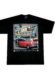 футболка с автомобильной тематикой mini cooper