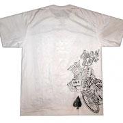 крутой принт на футболке king