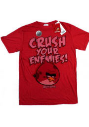 Мужская футболка Angry Birds винтаж