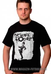 Футболка My Chemical Romance Skeleton