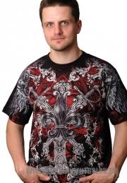 Славянская футболка с орнаментом
