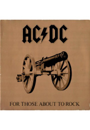 пластинка ac/dc for those about to rock