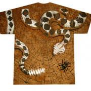 rattler футболка со змеёй