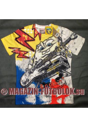rockin футболка spongebob с гитарой