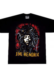 рок футболка хендрикс джимми