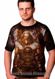 Славянская футболка Воин