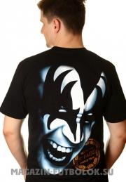 футболка kiss simons shade