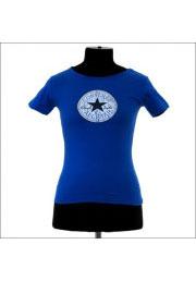 синяя футболка convers