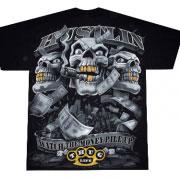 гангстерская футболка с надписями thug