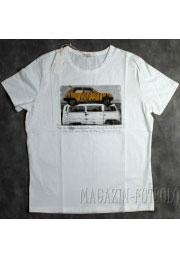 унисекс футболка с винтажным авто
