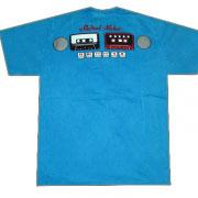 винтажная футболка с кассетами