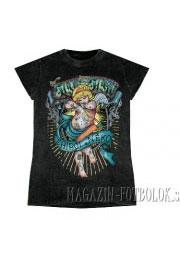 женская футболка amur tattoo