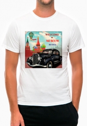 Футболка Welcome to Moscow Auto