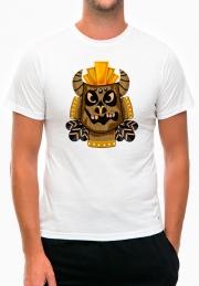 Футболка Wood African Mask