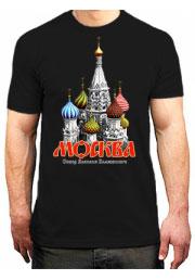 Заказать футболка с надписью Москва