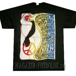 витнажная футболка pacific