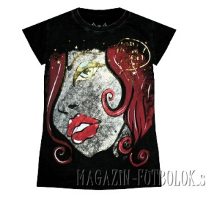 футболка для девушек girl face