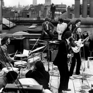 Последний живой концерт Beatles на крыше