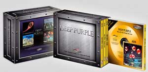 Золотой CD Set от DEEP PURPLE